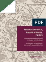 Magia Daemoniaca, Magia Naturalis, Zouber