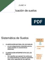 Clase 12 Clasificacion de Suelo (2018)