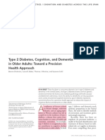 Type 2 DM, Cognition and Dementia in Older Adults