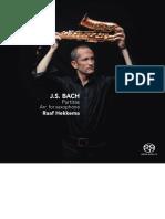 Bach Partitas for Saxophone