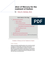 Chelation of Mercury for the treatment of Autism holmes.pdf