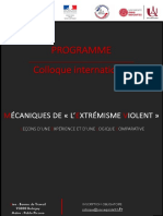 Programme Colloque International