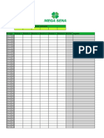 Planilha Mega Sena2018