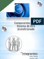 Componentes del Sistema de Aire Acondicionado Automotriz.ppsx