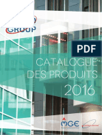 Catalogue de Produits 2016