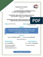 Étude, Sécurisation Et Supervision Avec Nagios d'un segment du réseaux du port autonome de Cotonou.
