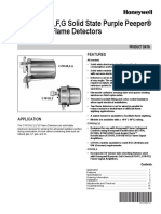 flame detecting system