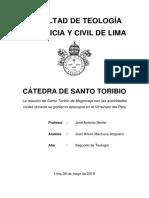 Artículo - Santo Toribio