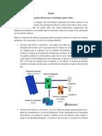 Descripción de Las Alternativas Del Proceso y Tecnologías (Parte Solar)