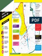 Le plan de circulation à Albi le 15 juillet