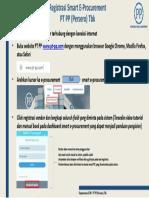 Pandual Awal Registrasi Smart E-Procurement PT PP