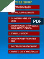 5. Por Qué Delegar