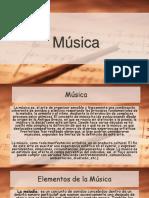 Diapositivas Música