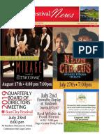 SCF July 2019 Newsletter