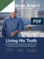 American Atheist Magazine - March/April 2019
