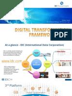 IDC's Digital Transformation Framework 2015