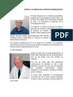 Bibliografia y Aportes a La Ciencia de 5 Fisicos Guatemaltecos