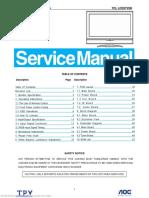 TCL LCD37VSH Service manual