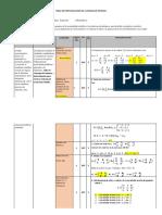 Ejemplo Tabla de Especificacion de PRUEBA de ENTRADA IMI