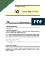 PEN 02 - Teoria Da Lei Penal