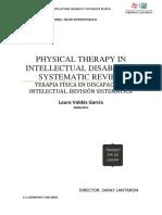 Fisioterapia en Discapacidad intelectual