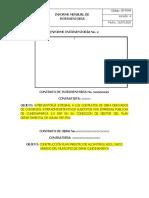 GP-F094 Informe Mensual de Interventoria