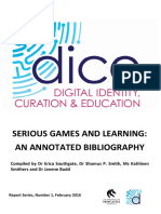 Serious Games bibliography