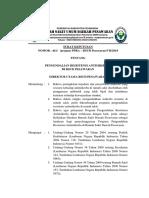 Surat Keputusan Tim Ppra