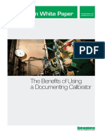 Beamex White Paper - The Benefits of Using Documenting Calibrators ENG