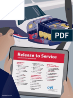 Release to Service Poster