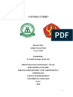 Referat Atonia Uteri Fix