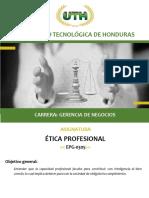 Modulo IV Etica Profesional 1