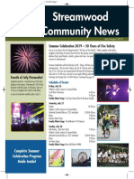 Streamwood Community News, July 2019