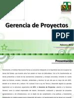 Presentacion Gerencia de Proyectos