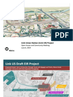 Link Union Station Open House Presentation