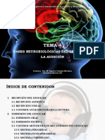 Tema 4. Bases Neurobiológicas Del Lenguaje y La Audición