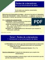 TEMA 1 - Redes de Ordenadores