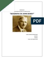 Monografia John Dewey