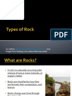 Types of Rocks Powerpoint