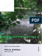 Moja Borba - Peta Knjiga - Karl Ove Knausgard