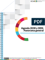 Agenda 2030 y ODS Panorama General