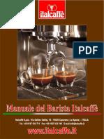 Manuale Del Barista Italcaffe