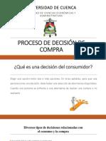 4. Proceso Decisión Compra