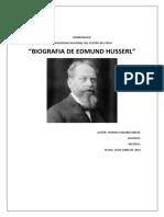 Monografia Edmund Husserl