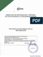 IyC 20, Manual de Politicas de Seguridad, Temas 14 y 15 Paginas 16 y 17.