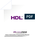 HDL-BUS Pro Programming Manual