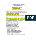 Libros de Educacion Financiera Iudis Lonzoi