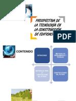 Prospectiva de La Tecnología en La Construcción de Edificaciones