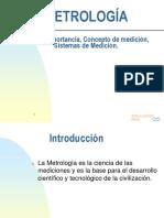 Metrologia- Introducción