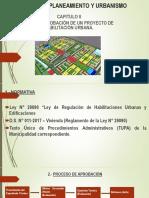 Aprobacion de Habiitacion Urbana